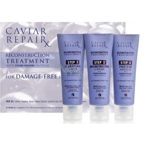 Alterna Caviar RepaiRx Reconstruction Treatment Kit třífázové regenerační ošetření 3 x 50 ml