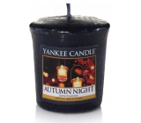Yankee Candle Autumn Night - Autumn Night scented candle 49 g