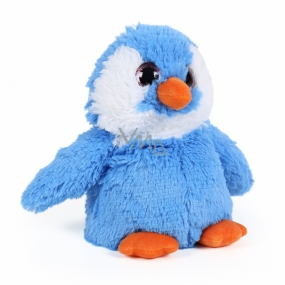 Albi Warm plush penguin blue 25 cm x 20 cm 750 g