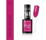 Revers Solar Gel Gel Nail Polish 07 Show Orchid 12 ml