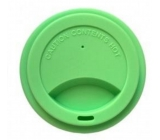 Jack N Jill Silicone crucible lid green 8.7 x 1.8 cm