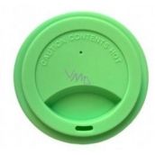 Jack N Jill BIO Silicone crucible lid green 8.7 x 1.8 cm