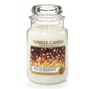 Yankee Candle All Is Bright - Everything just shines a classic scented candle large glass 623 g