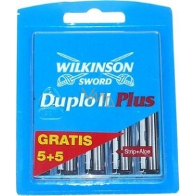 Wilkinson Duplo II Plus spare heads 5 + 5