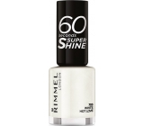 Rimmel London 60 Seconds Super Shine Nail Polish nail polish 703 White Hot Love 8 ml