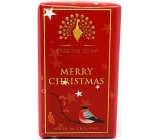 English Soap Merry Christmas natural perfumed soap with shea butter 200 g