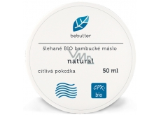 Aromatica Bebutter Bio Natural whipped shea butter for delicate and sensitive skin 50 ml