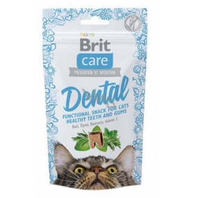 Brit Care Cat Snack Dental Turkey semi-soft supplementary food for cats 50 g