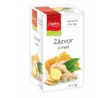 Apotheke Natur Ginger and honey fruit tea helps digestion, breathing and well-being, 20 x 2 g