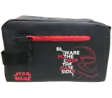 Etue Black Leatherette Star Wars Red Zippers +