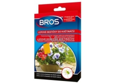 Bros Pots for pots, attracts and catches pests on plants 10 pieces + 5 handles
