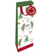 Nekupto Gift paper bag luxury 33 x 13 cm Christmas 1792 WILH