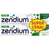 Zendium BioFresh toothpaste with fluorine for sensitive teeth, hardens tooth enamel 2 x 75 ml, doupack