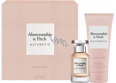 Abercrombie & Fitch Authentic Woman EdP 50 ml Eau de Toilette + 200 ml Body Lotion, Gift Set