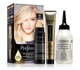 Loreal Paris Préférence hair color 9.1 Oslo Very light ash blonde