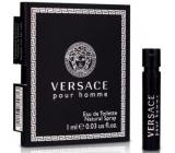 Versace pour Homme Eau de Toilette 1 ml with spray, Vial