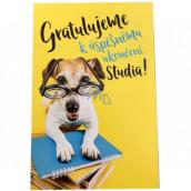 Nekupto Graduation card 115 x 170 mm 3452 F