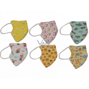 Happy Kids Respirator oral protective 5-layer FFP2 children's face mask 10 pieces mix of motifs