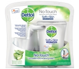 Dettol Aloe Vera Touchless Soap Dispenser and Hydrating Soap Refill 250 ml