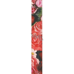 Nekupto Gift wrapping paper 70 x 150 cm Red roses 1 roll