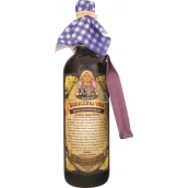 Bohemia Gifts & Cosmetics Babiččino víno k maceraci červené dárkové víno - černý bez květ 750 ml