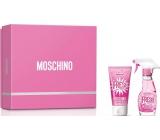 Moschino Fresh Couture Pink EdT 30 ml eau de toilette Ladies + 50 ml body lotion, gift set