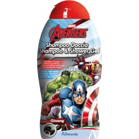 Marvel Avengers 2in1 shower gel and hair shampoo 250 ml expiration 7/2019