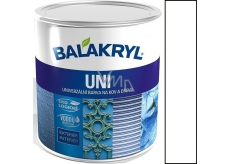 Balakryl Uni Mat 0100 White universal paint for metal and wood 700 g