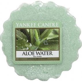 Yankee Candle Aloe Water - Voda s Aloe vonný vosk do aromalampy 22 g