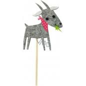Goat gray recess 11 cm + skewers