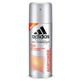Adidas Adipower antiperspirant deodorant spray for men 150