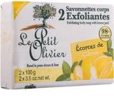 Le Petit Olivier Citron Peeling soap 2 x 100 g