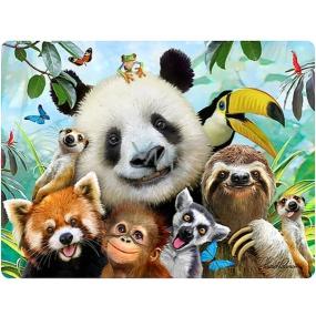 Prime3D Magnet - Zoo Selfie 9x7cm
