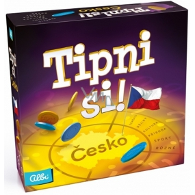 Albi Tip Czech Republic party game for 3-6 players, recommended age from 12+