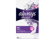 Always Discreet Long 40 incontinence briefs