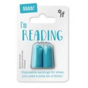 If Silence Please Read Blue Earplugs