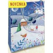 Nekupto Gift paper bag medium 23 x 18 x 10 cm Christmas 1805 40 WBM
