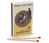 Nekupto Original matches in retro style Collect old scrap to strengthen the peace of 45 pieces