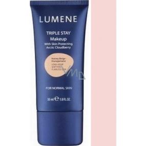 Lumene Double Stay mineral makeup 02 Honey Beige 30 ml
