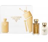 Prada La Femme perfumed water for women 50 ml + body lotion 100 ml, gift set