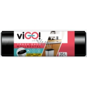viGO! Garbage bags black 35 liters 48 x 57 cm 50 pieces