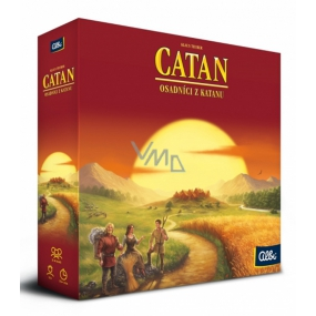 Albi Catan Settlers of Catan strategy board game for 3-4 players, recommended age from 10+