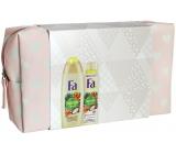 Fa etue Amazonia shower gel 250 ml + deodorant spray 150 ml + etue, cosmetic set