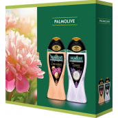 Palmolive Aroma Sensations So Luminous shower gel 250 ml + Feel Loved shower gel 250 ml, cosmetic set
