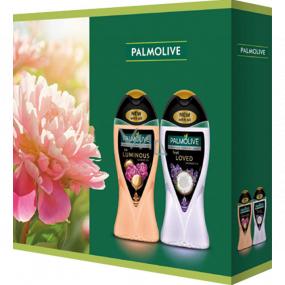 Palmolive Aroma Sensations So Luminous shower gel 250 ml + Feel Loved shower gel 250 ml, cosmetic set