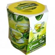 Admit Verona Green Tea - Green tea scented candle in glass 90 g