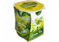 Admit Verona Green Tea - Green tea scented candle in glass 90 g