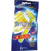 Bartoň Shaver 2blade swinging for women 5 pieces TD702Z
