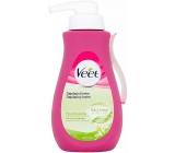 Veet Silk & Fresh Shea Butter & Fragrance Lily Hair Removal Cream for Dry Skin Dispenser 400 ml