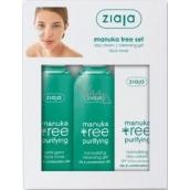 Ziaja Manuka Tree pleťový tonik 200 ml + Mycí gel 200 ml + Denní krém 50 ml, kosmetická sada